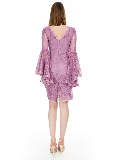 Trend Elbise Pudra